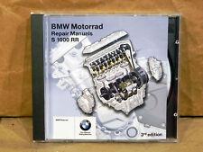 BMW Motorcycle Repair Manual CD S1000RR  3RD Edition 01 59 7 721 687