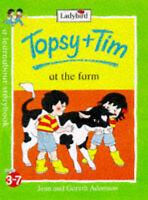 Topsy and Tim at the Farm by Gareth Adamson, Jean Adamson (Paperback, 1998)