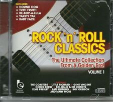 ROCK 'N' ROLL CLASSICS VOLUME 1 CD - LITTLE RICHARD & MORE