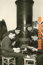 Altes Foto/Vintage photo: ZWEITER WELTKRIEG / WWII: Niepolomice cooking [#KH93]