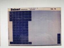 YAMAHA XT 600 _ EH _EN _ 1990 microfilm catalogo ricambi PEZZO DI LISTELLO