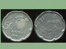 ESPAGNE 50  pesetas 1990     sevilla