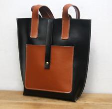 women wallet purse cow Leather pouch shoulder Messager bag Customize black z785