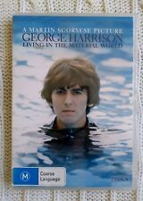GEORGE HARRISON - LIVING IN THE MATERIAL WORLD - DVD, R-4, LIKE NEW, FREE POST