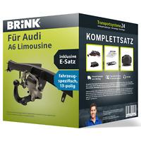 Anhängerkupplung BRINK schwenkbar für AUDI A6 Limousine +E-Satz Kit NEU AHK