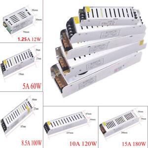 AC220V To DC 12V Lighting Transformers 1A 5A 8A 10A 20A 30A LED Light Driver