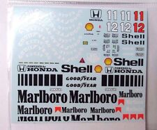 1/20 McLaren MP4/4 Decal for Tamiya (Mc Laren) A.Senna Prost