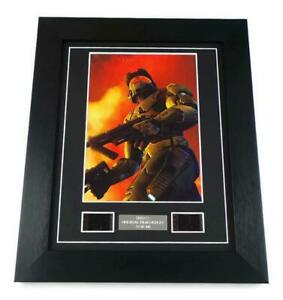 HALO 2 Film Cells HALO 2 MASTER CHIEF Rare Video Game Memorabilia Framed GIFTS
