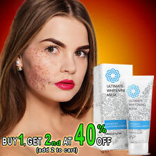 WHITENING MASK MIRACLE GLOW Natural Cream Pigmentation Freckles Omegalight