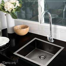 Artiss Cefito 440x440mm Stainless Steel Kitchen Sink - Black