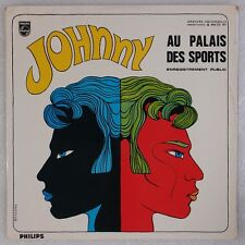 JOHNNY HALLYDAY:  Enregistrement Public Au Palais '67 France Rock & Roll LP