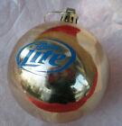 New MILLER LITE Beer CHRISTMAS Tree Ornament Decoration BULB shirt lights wreath