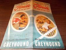 1939 Greyhound Florida Travel Brochure/Nice Pictures