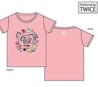 NEW TWICE JPN SHOWCASE Live Touchdown Limited Official T-shirt Pink M size F/S