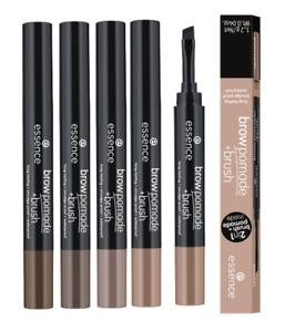 ESSENCE Brow Pomade + Brush - Long-lasting Smudge-proof Eyebrow Cream Definer