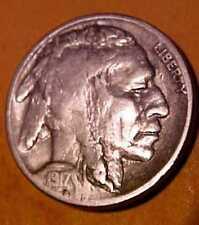 1917-S Buffalo Nickel ~Nice Gem Circulated  ~Rare Date Buffalo ☆Make An Offer☆