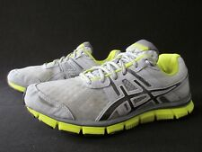 Asics Gel-Blur33 Gray Yellow Synthetic Mesh Running Shoes Women's US 9M
