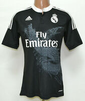REAL MADRID 2014/2015 DRAGON THIRD FOOTBALL SHIRT JERSEY ADIDAS SIZE S ADULT