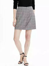 NWT Banana Republic New $88.00 Women Wool Foldover Mini Skirt Size 10P