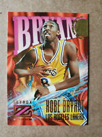 Rare 1996 - 1997 SkyBox Fleer Z-Force Kobe Bryant 96-97 #142 Rookie Card HOF
