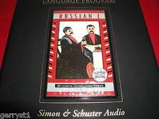 Pimsleur Russian I (Level 1) 16 audio cd comprehensive course set