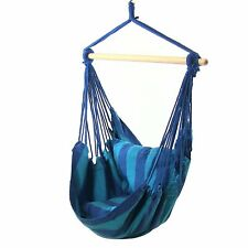 Sunnydaze Hanging Hammock Swing with Two Cushions Set of 2 Oasis
