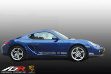 Porsche Side Decals Graphics Cayman 987 Side Decals Graphics Silver