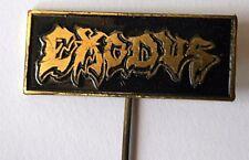 Exodus Original Vtg 80/90`s Enamel Metal Pin Badge Rare(not shirt patch lp cd)