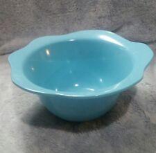 """Zak! Designs Melamine Nesting Flower Blue Bowl  7 1/2"""" x 3 """""""