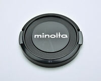 Genuine Minolta MD & MC 49mm Front Lens Cap Snap-On  (#3219)