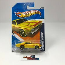 '71 Dodge Demon #84 * YELLOW KMART Only * Hot Wheels 2011 * WG20
