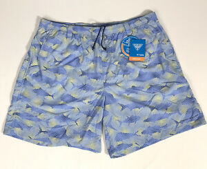 NWT Columbia PFG Super Backcast Water Swim Short Fish Print Omni-Shade 2XL 8""