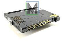 CISCO CGS-2520-16S-8PC x16 SFP PORTS + x8 RJ45 W/ RACK MOUNTS DC POWER 2520