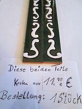 "Hausnummer grün / weiß ""Verde"" Größe 15x7,5  Keramik Nr. 0/1/2/3/4/5/6/9/7/8/A/B"
