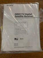 Directv Digital Satellite Owners Manual