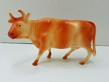 Vintage STASCO TOY Celluloid Cow Christmas Nativity Farm Animal Blow Mold Type