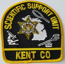 Scientific Support Unit Kent Co. Cloth Patch
