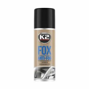 K2 FOX Anti-Fog Stop Fogging Steam Window Windscreen Protectant Spray - 150ml