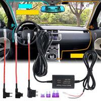 New Universal Hard Wire Fuse Box Car Recorder Dash Cam Hard Wire Kit + Mini USB