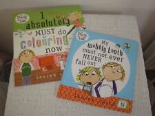 CHARLIE & LOLA wobbly tooth must never fall out & i absolutely must do colouring