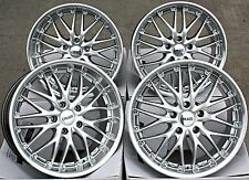 "CRUIZE 190 SP 18"" ALLOY WHEELS 18 INCH ALLOYS SILVER POLISHED DEEP DISH 5X120"