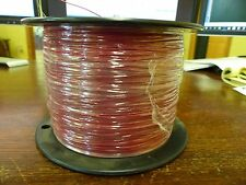 UL1061  28awg Red PVC    Stranded Tinned copper   Aprox 4140ft