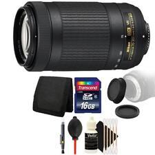 Nikon AF-P DX NIKKOR 70-300mm f/4.5-6.3G ED VR Lens + 16GB Kit