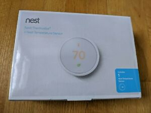 NEW - Nest Learning Thermostat E with Temperature Sensor