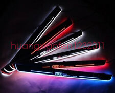 2pcs LED Door sill Scuff Plate threthold Trim Panel for For Audi A7 / S7 / RS7