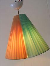 Seltene alte Hängelampe, Ampellampe 50er 60er Jahre Kult Design Lampe Tütenlampe