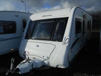 COMPASS RALLYE 644 LUXURY 4 BERTH TWIN WHEEL  YEAR 2009 *FIXED ISLAND BED*