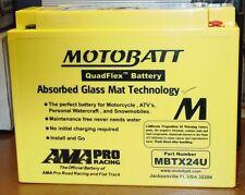 Motobatt Motorcycle Battery CTX18-BS CTX18L-BS GTX18L-BS YTX24HLBS  MBTX24U