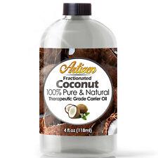 Óleo De Coco fracionada (100% Pure & Natural prensado a frio) Óleo de massagem da portadora