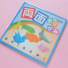 Japanese origami papier 35 Feuilles Double Face Couleurs 15cmx15cm